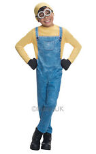 SALE! Minion Bob Boys Fancy Dress Despicable Me Kids Childs Movie Film Costume