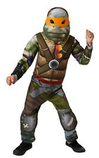 Boy's Deluxe Movie TMNT Teenage Mutant Ninja Turtles Fancy Dress Costume
