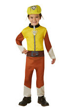 Rubble Paw Patrol Boys Fancy Dress Costume