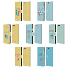 OFFICIAL MUY POP SUNNY SIDE UP SUMMER LEATHER BOOK WALLET CASE FOR HUAWEI PHONES