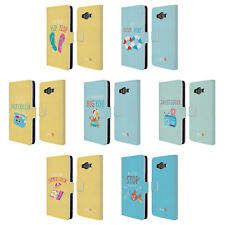 OFFICIAL MUY POP SUNNY SIDE UP SUMMER LEATHER BOOK CASE FOR SAMSUNG PHONES 2
