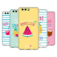 OFFICIAL MUY POP SUNNY SIDE UP FRUITS SOFT GEL CASE FOR HUAWEI PHONES