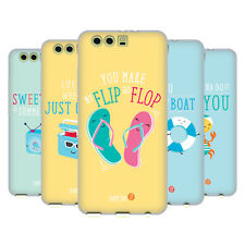 OFFICIAL MUY POP SUNNY SIDE UP SUMMER SOFT GEL CASE FOR HUAWEI PHONES