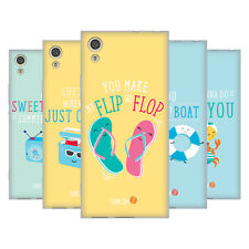 OFFICIAL MUY POP SUNNY SIDE UP SUMMER SOFT GEL CASE FOR SONY PHONES 1
