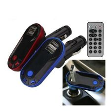 Bluetooth Wireless Trasmettitore FM MP3 LETTORE VIVAVOCE AUTO USB TF SD REMOTO