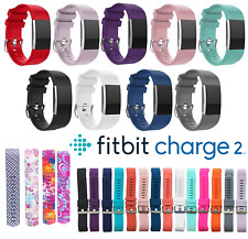 Band for Fitbit Charge 2 Replacement Secure Strap *UK* Wristband Metal Buckle HR