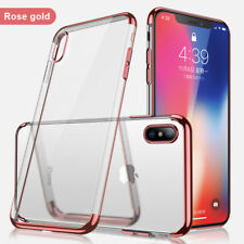 New Transparent Crystal Clear Case For iPhone 7 8 Case Gel TPU Soft Cover Skin