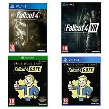 Fallout 4 VR PC,GOTY Edition Xbox One,GOTY Edition PS4,4 -PS4 Game Is Classified