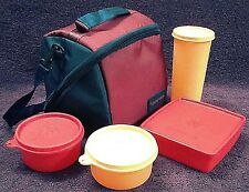 Tupperware - PREMIER Lunch set with wide opening cross zip bag-WONDERFUL PRODUCT