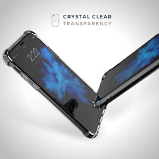 Shockproof Silicone Protective Clear Case Back Cover For iPhone X 8 7 6s 6 5 5s