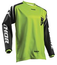 THOR YOUTH SECTOR zones JERSEY MOTOCROSS ENDURO tricot maillot chemise vert /