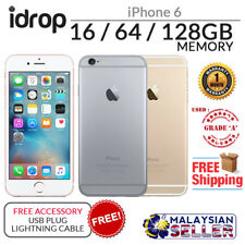 ORIGINAL GRADE A - USED PHONE Apple iPhone 6 16/64/128GB  + Free Accessory