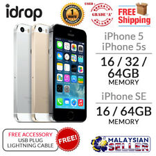 ORIGINAL GRADE A - USED PHONE Apple iPhone 5/5s/SE - 16/32/64GB + Free Accessory
