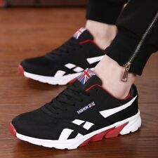 Men Sport Running Shoes Casual Mesh Breathable Trainer Athletic Sneakers HTDF