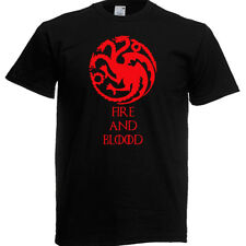 Game of Thrones Fire and Blood T-shirt  AGE 3 - XXL Also GLOW IN DARK *.*.*
