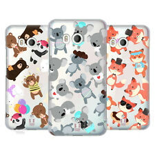 HEAD CASE DESIGNS LOVELY ANIMALS HARD BACK CASE FOR HTC PHONES 1