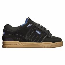 Globe Fusion Skate Shoes Trainers Black Blue Gum