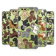 HEAD CASE DESIGNS DOG BREED PATTERNS 17 SOFT GEL CASE FOR HUAWEI PHONES