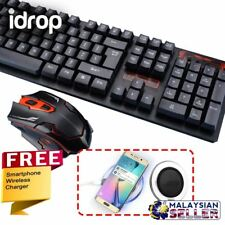 CRAZYBOSS idrop Combo HK6500 Keyboard 2.4GHz Mouse Free Wireless Charger