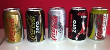 Coca Cola special cans from Belgium special edition - sealed and new