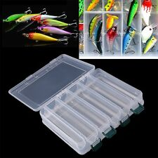 Double Sided Fishing Lure Bait Hooks Tackle Waterproof Storage Box Case LISF