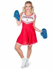 Déguisement pompom girl rouge CHEERS femme Cod.307495