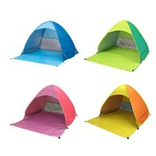 Foldable Portable 2 Person Beach Tent Fashion Outdoor Automatic UV Protection