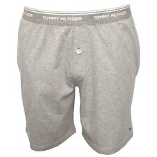 Tommy Hilfiger men's Classic Jersey pyjama Shorts, Grey Small S