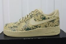 MEN,S NIKE AIR FORCE 1 '07 LV8 CAMO TEAM GOLD & GOLDEN BEIGE 823511-700 BNIB