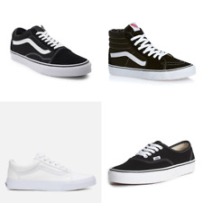 Hommes Vans Old Skool Skate Original Chaussures Shoes Classic canvas suede Toute