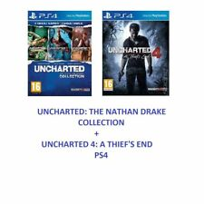 PS4-Uncharted 4 - The Nathan Drake Collection - Lost Legacy- 1st Class Delivery