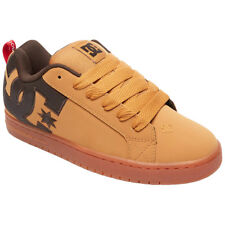 DC Shoes Court Graffik Se Leather Low-Top Skate Shoes Casual Mens Trainers