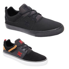 DC Shoes Heathrow Vulc Suede Casual Low-Top Slip-On Sneakers Mens Trainers