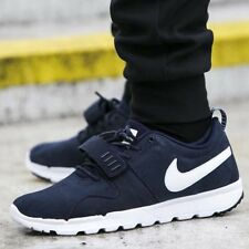 Nike SB Trainerendor Leather UK Size 9 EUR 44 Men's Boots Trainers Shoes Navy