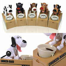 Choken Hungry Eating Dogs Coin Bank Money Saving Boxes Piggy Bank Children Gifts