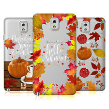 HEAD CASE DESIGNS AUTUMN ILLUSTRATION HARD BACK CASE FOR SAMSUNG PHONES 2