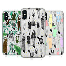 HEAD CASE DESIGNS FASHION SKETCHES SOFT GEL CASE FOR APPLE iPHONE PHONES