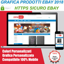 EBay Listing Template HTML PROFESSIONALE MOBILE HTTPS Design 2018 Italia
