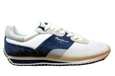 Pepe Jeans London PMS30405 Blanco Zapatillas Hombre Chaussure Casual Deportivo