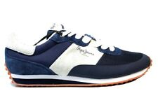 Pepe Jeans London PMS30405 Azul Zapatillas Hombre Chaussure Casual Deportivo
