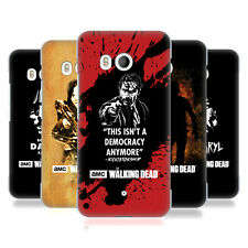 OFFICIAL AMC THE WALKING DEAD TYPOGRAPHY HARD BACK CASE FOR HTC PHONES 1