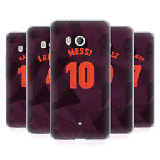 OFFICIAL FC BARCELONA 2017/18 PLAYERS THIRD KIT 1 SOFT GEL CASE FOR HTC PHONES 1