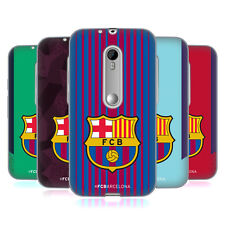 OFFICIAL FC BARCELONA 2017/18 CREST KIT SOFT GEL CASE FOR MOTOROLA PHONES 2