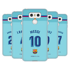 OFFICIAL FC BARCELONA 2017/18 PLAYERS AWAY KIT GROUP 1 GEL CASE FOR LG PHONES 1