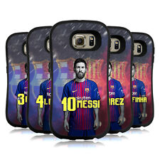 OFFICIAL FC BARCELONA 2017/18 FIRST TEAM GROUP 1 HYBRID CASE FOR SAMSUNG PHONES