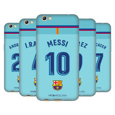 OFFICIAL FC BARCELONA 2017/18 PLAYERS AWAY KIT GROUP 1 GEL CASE FOR OPPO PHONES