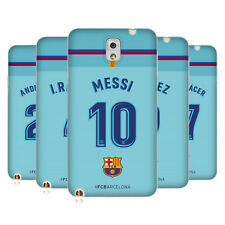 OFFICIAL FC BARCELONA 2017/18 PLAYERS AWAY KIT 1 GEL CASE FOR SAMSUNG PHONES 2