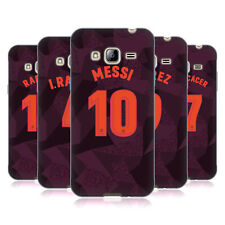 OFFICIAL FC BARCELONA 2017/18 PLAYERS THIRD KIT 1 GEL CASE FOR SAMSUNG PHONES 3
