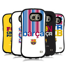 OFFICIAL FC BARCELONA 2017/18 CAMPIONS HYBRID CASE FOR SAMSUNG PHONES