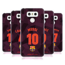 OFFICIAL FC BARCELONA 2017/18 PLAYERS THIRD KIT GROUP 1 GEL CASE FOR LG PHONES 1